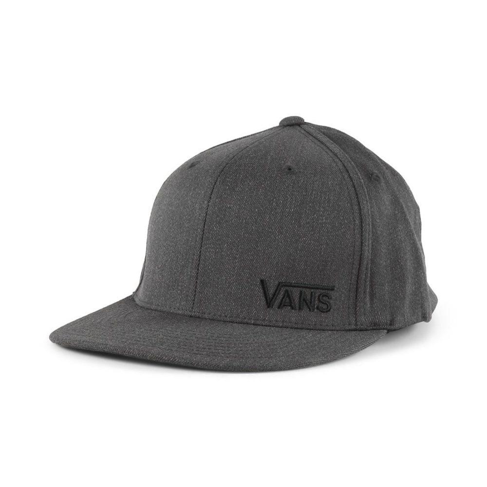 Vans-Splitz-FlexFit-Hat-Charcoal-Heather-1 ... 5fc5525aaae