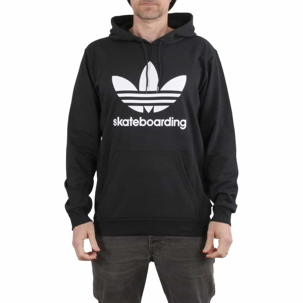 Adidas Clima 3.0 Pullover Hoodie – Black / White