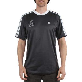 Adidas Macleay Sherzey S/S T-Shirt - Solid Grey / Light Granite / White