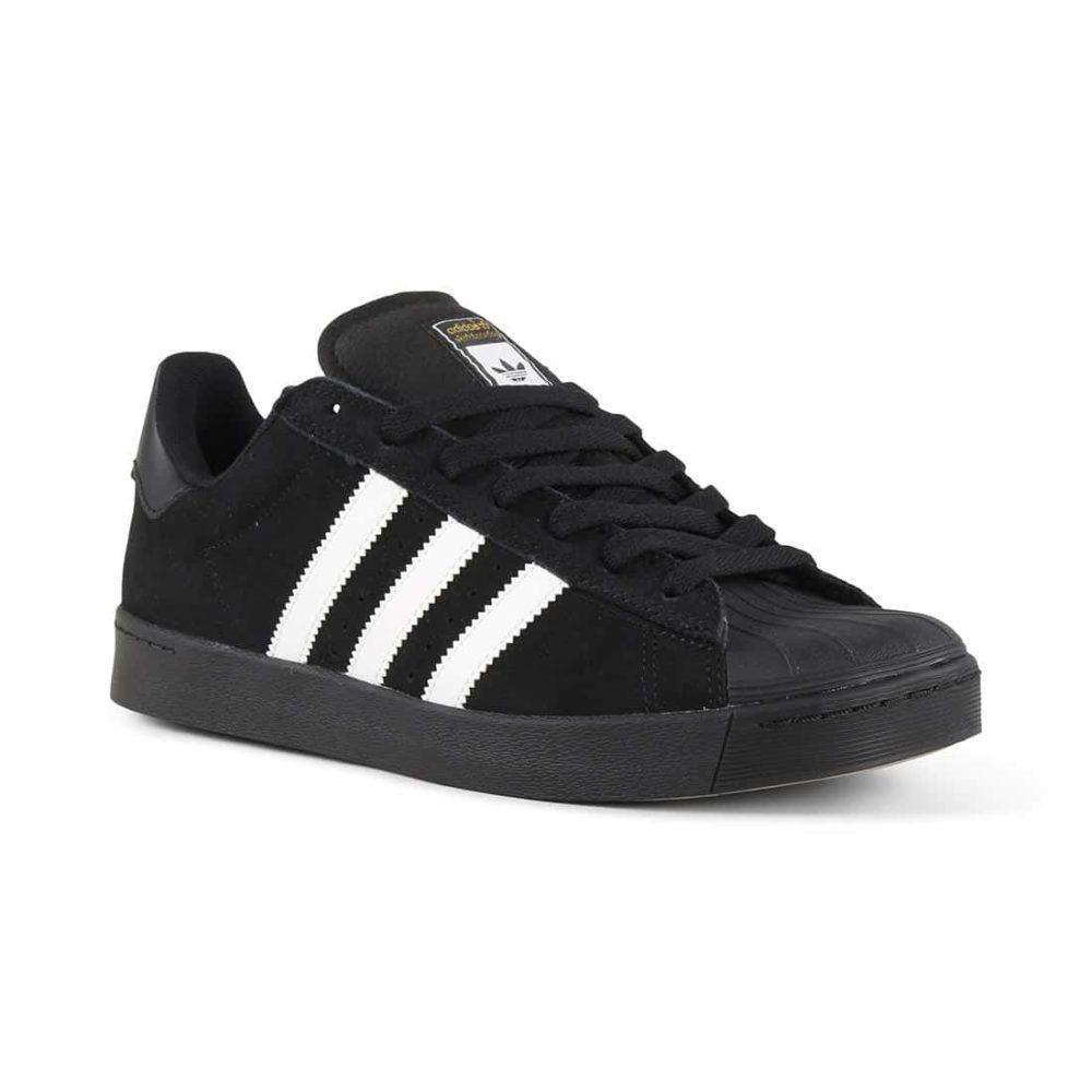 a0f3b9d5e4a91 Adidas Superstar Vulc ADV Shoes - Core Black   White   Core Black