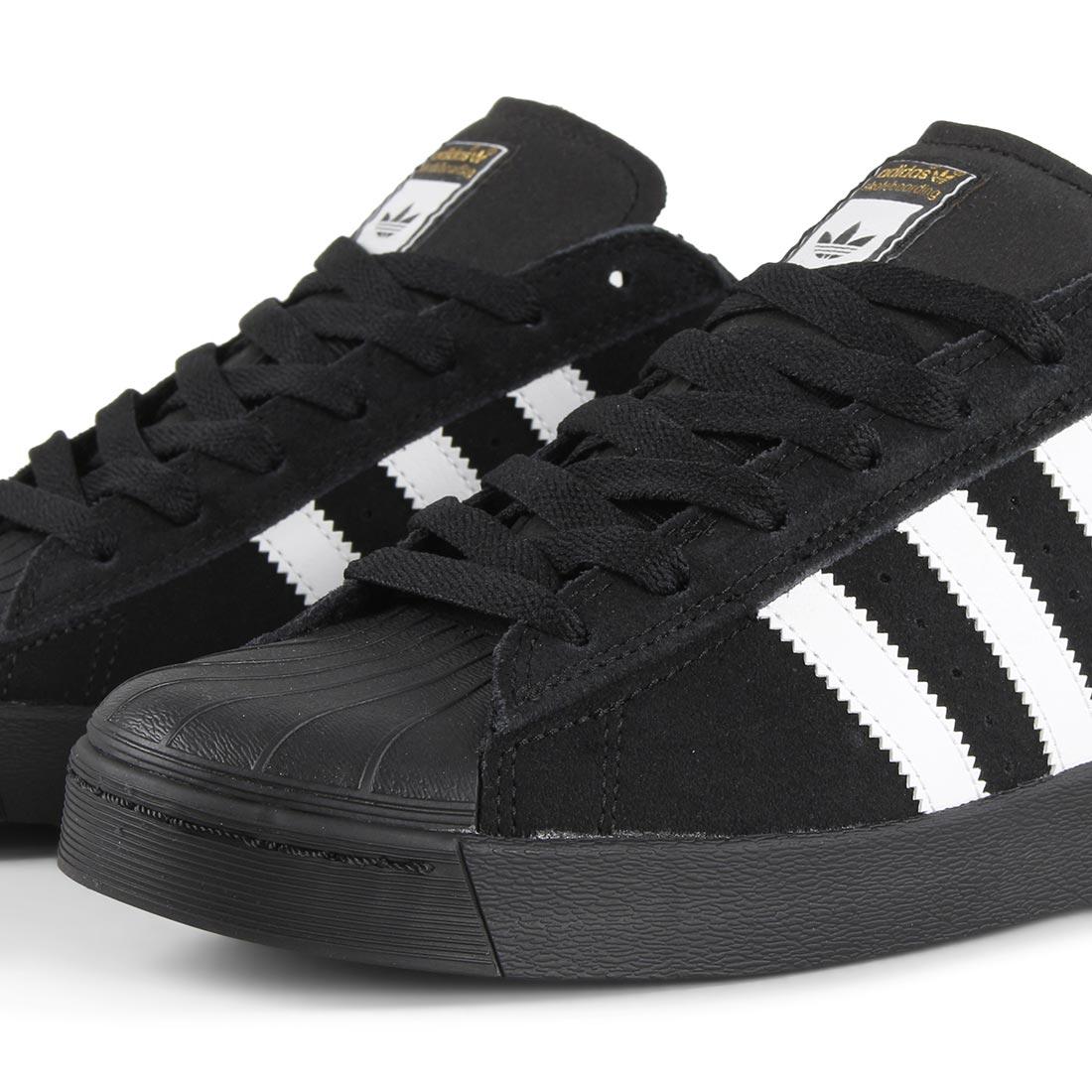 separation shoes ab198 925e9 Adidas Superstar Vulc ADV Shoes - Core Black / White / Core Black