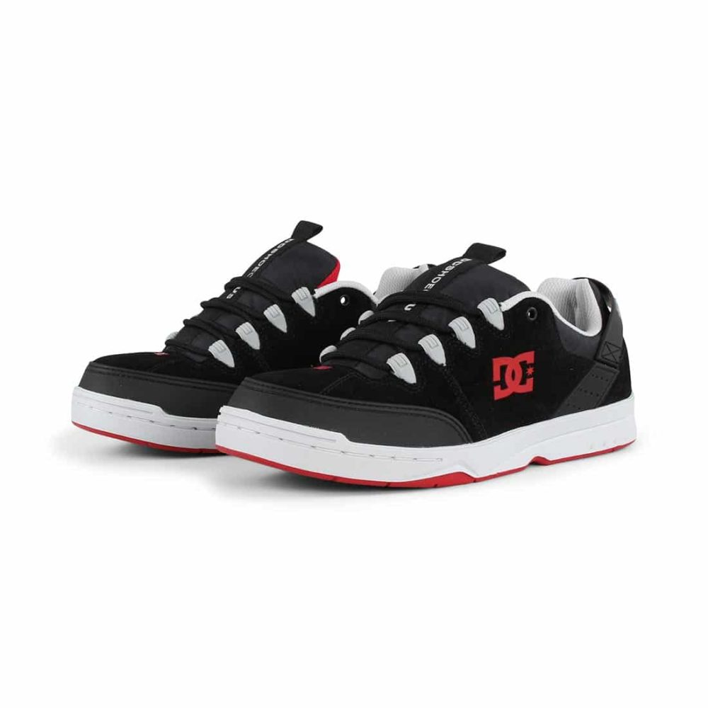 DC Shoes Syntax - Black / Grey / Red