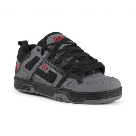 DVS Comanche Shoes - Black / Charcoal / Red