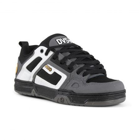 DVS Comanche Shoes - White / Charcoal