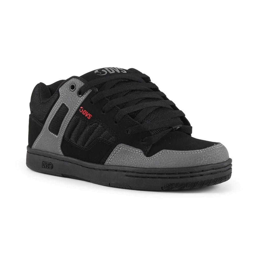 DVS Enduro 125 Shoes - Black / Charcoal / Red