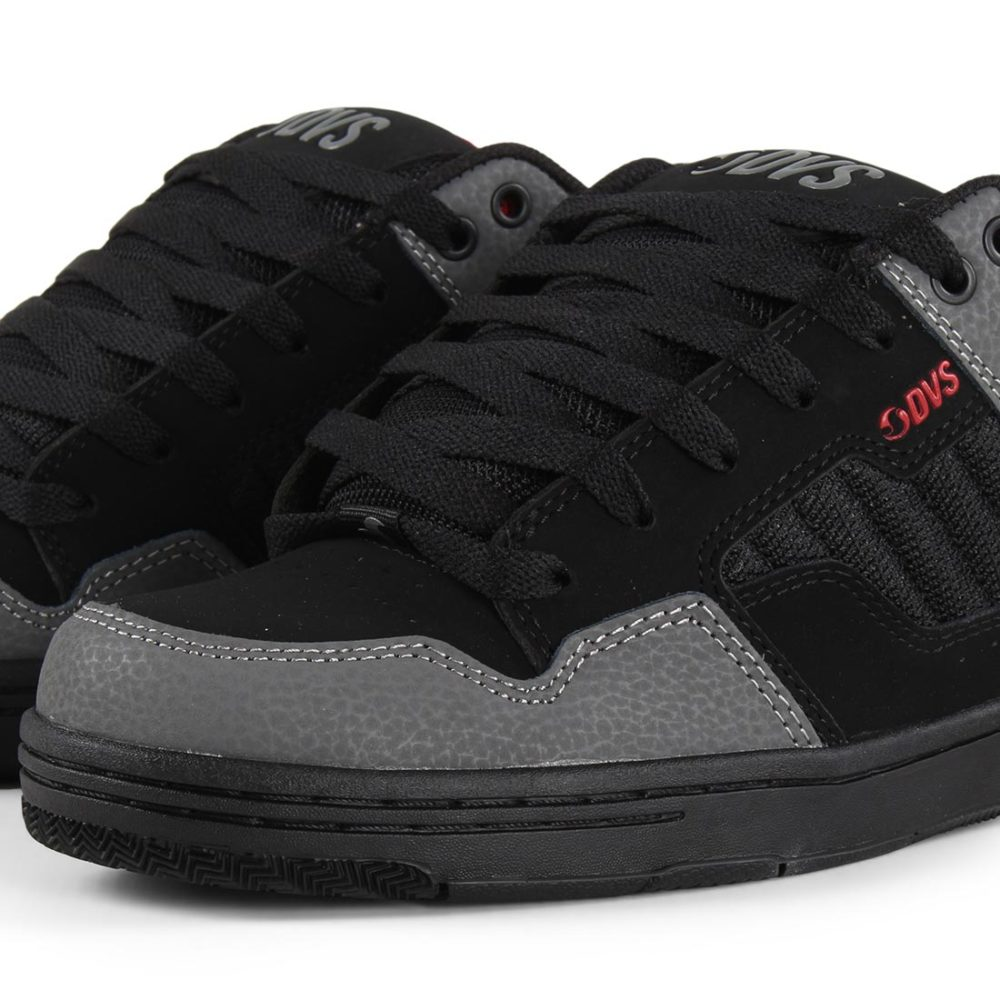 DVS Enduro 125 Shoes - Black / Charcoal / Red