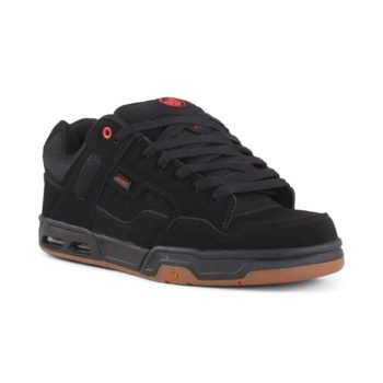 DVS Enduro Heir Shoes - Black / Red / Gum