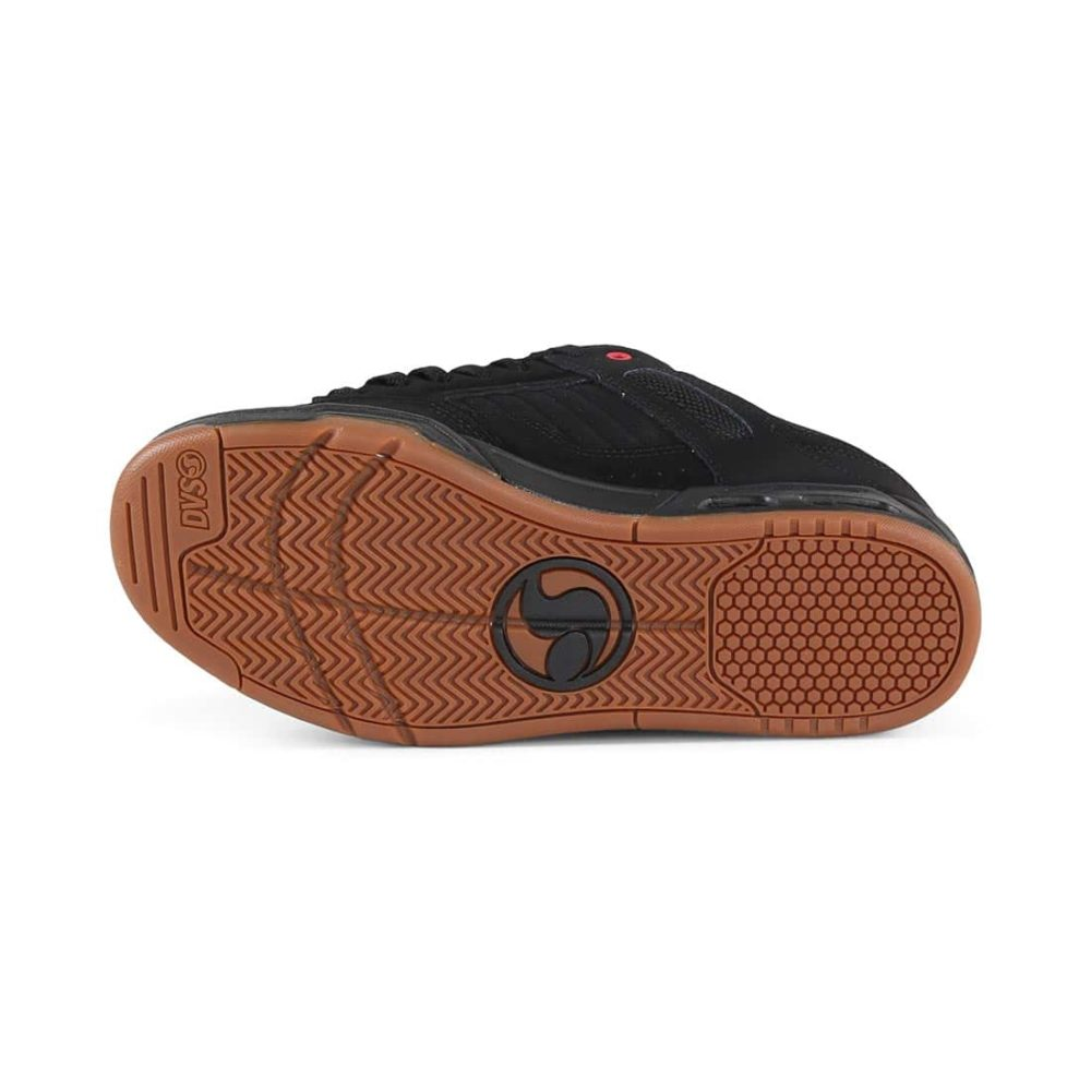 DVS Enduro Heir Shoes - Black / Red / Gum