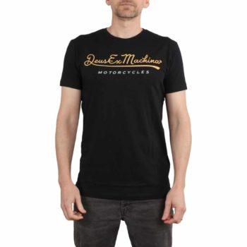 Deus Ex Machina 2nd Base S/S T-Shirt - Black