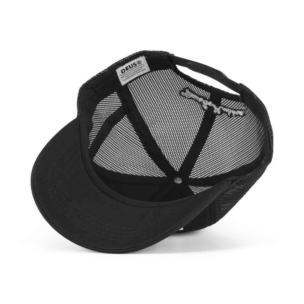 Deus Ex Machina Caps Trucker Cap - Black