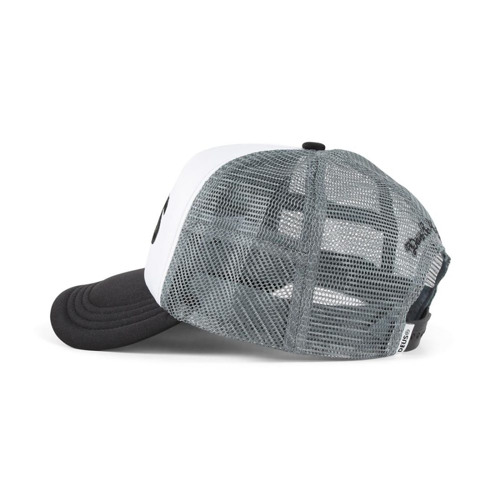 Deus Ex Machina Caps Trucker Cap - Black / Grey