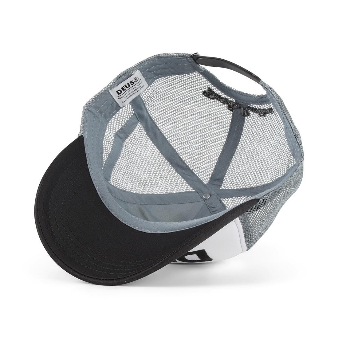 Deus Ex Machina Caps Trucker Cap - Black / Grey