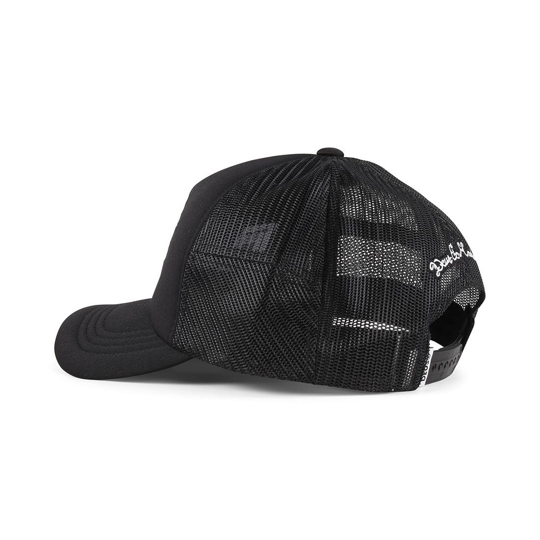 Deus Ex Machina Curvy Trucker Cap – Black