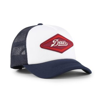 Deus Ex Machina Diamond Trucker Cap - Navy