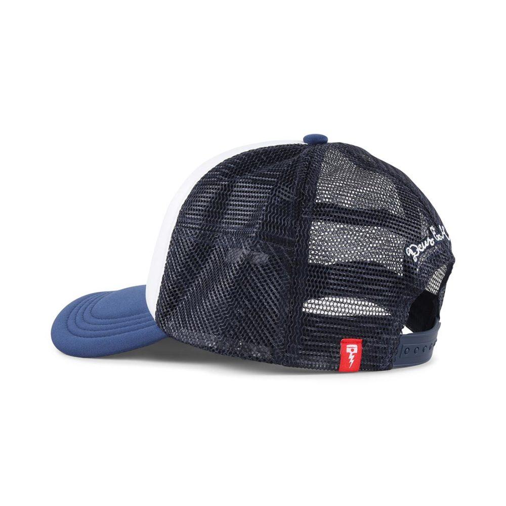 Deus Ex Machina Peak Trucker Cap – Navy