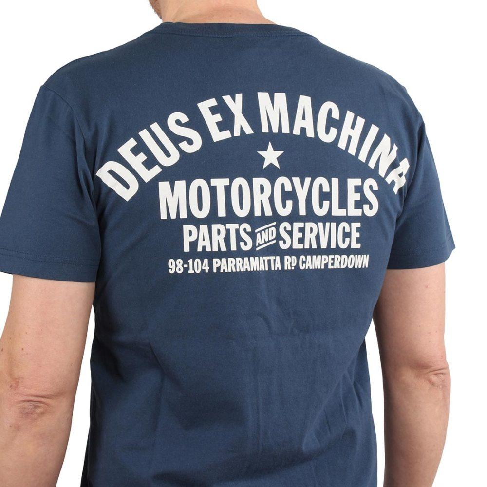 Deus Ex Machina The KR S/S T-Shirt – Navy