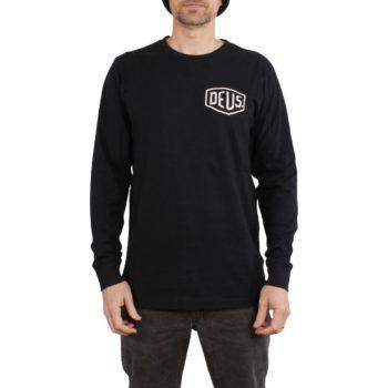Deus Ex Machina Tokyo Address L/S T-Shirt - Black