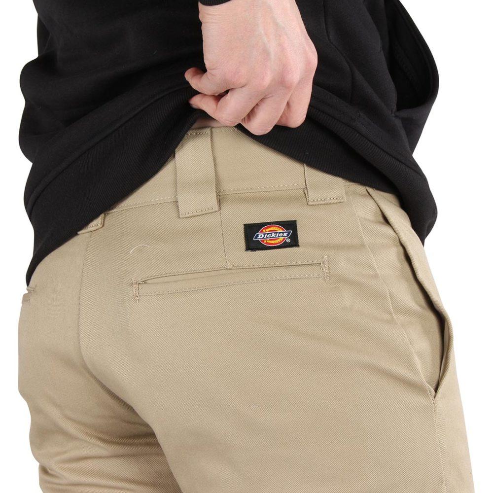 Dickies 803 Slim Skinny Work Pant - British Tan