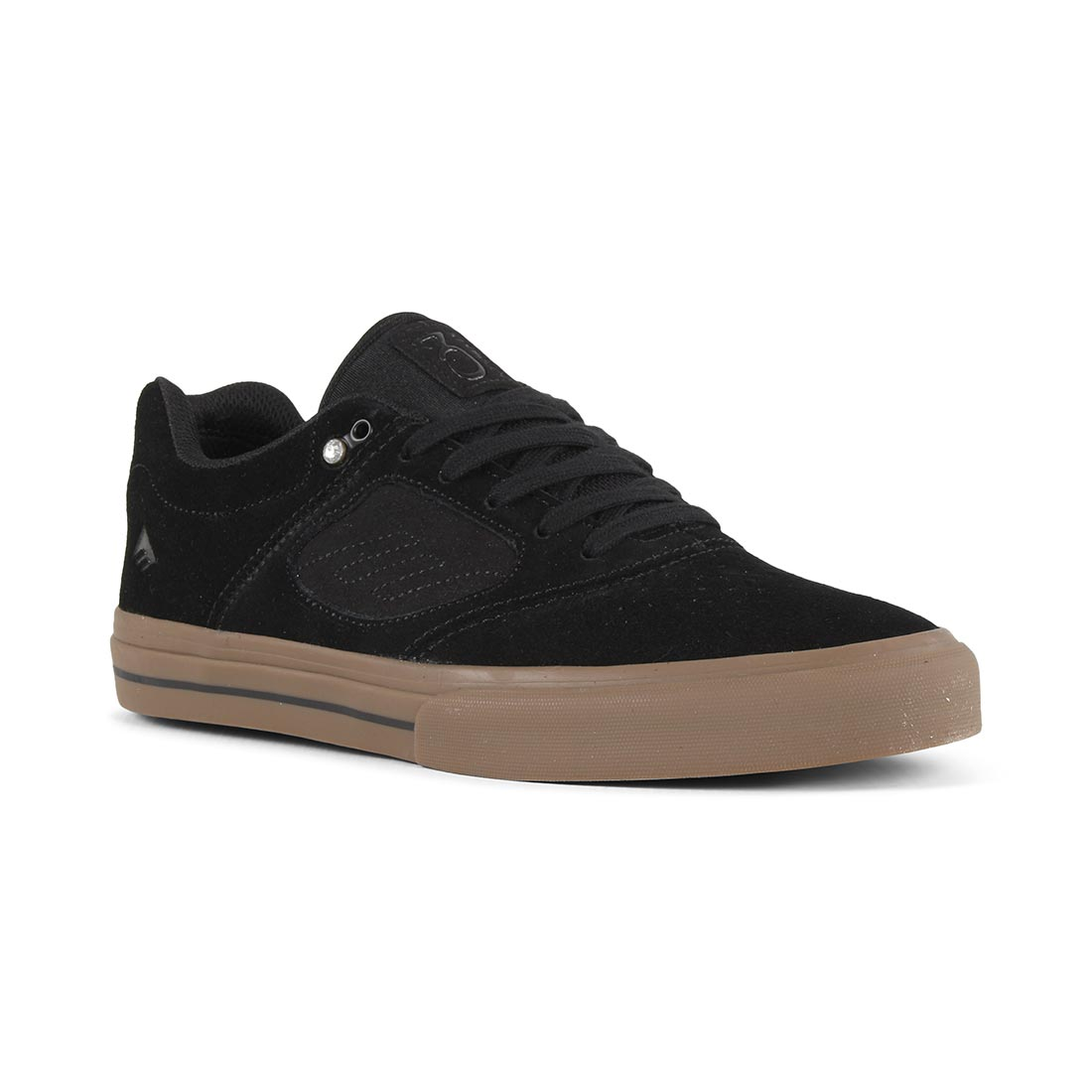 Emerica Reynolds 3 G6 Vulc Mens Skate Shoes Black/Black
