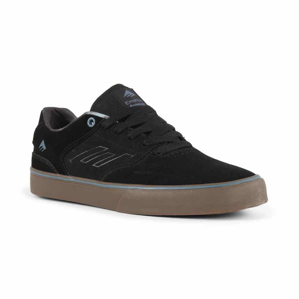 Emerica Reynolds Low Vulc Shoes - Black / Gum / Grey