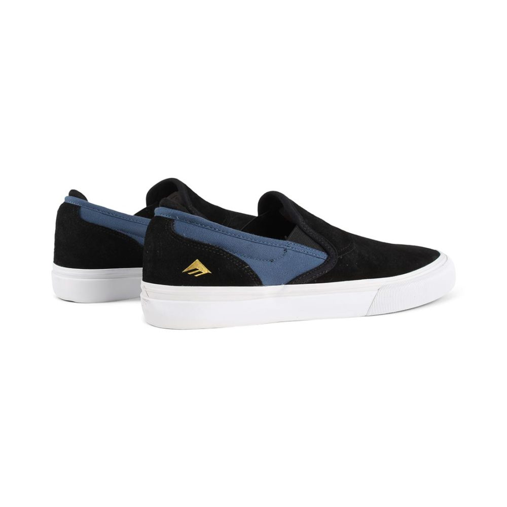 Emerica Wino G6 Jeremy Leabres Slip-On Shoes - Black / Blue