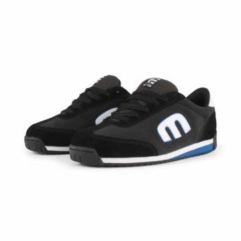 Etnies Lo-Cut II LS Shoes - Black / Charcoal / Blue