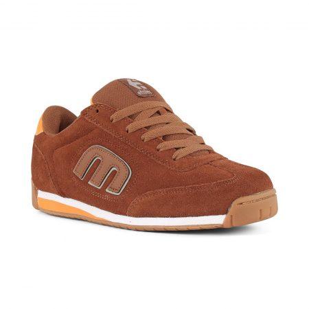 Etnies Lo-Cut II LS Shoes - Brown / Orange
