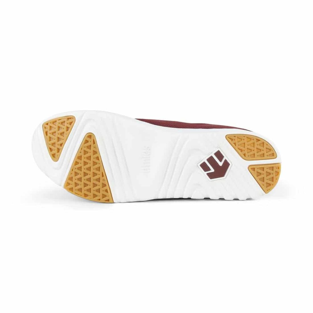 Etnies-Scout-Shoes-Maroon-White-2