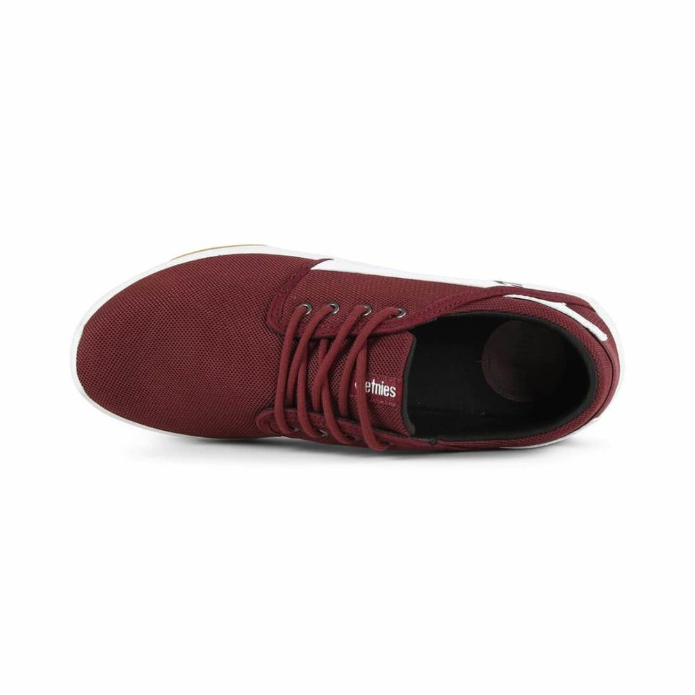 Etnies-Scout-Shoes-Maroon-White-3