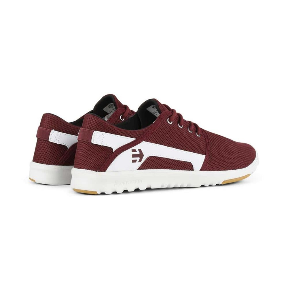 Etnies-Scout-Shoes-Maroon-White-4