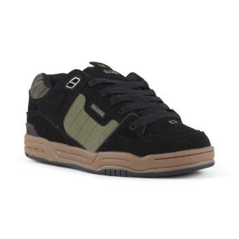 Globe Fusion Shoes - Black / Olive / Knit