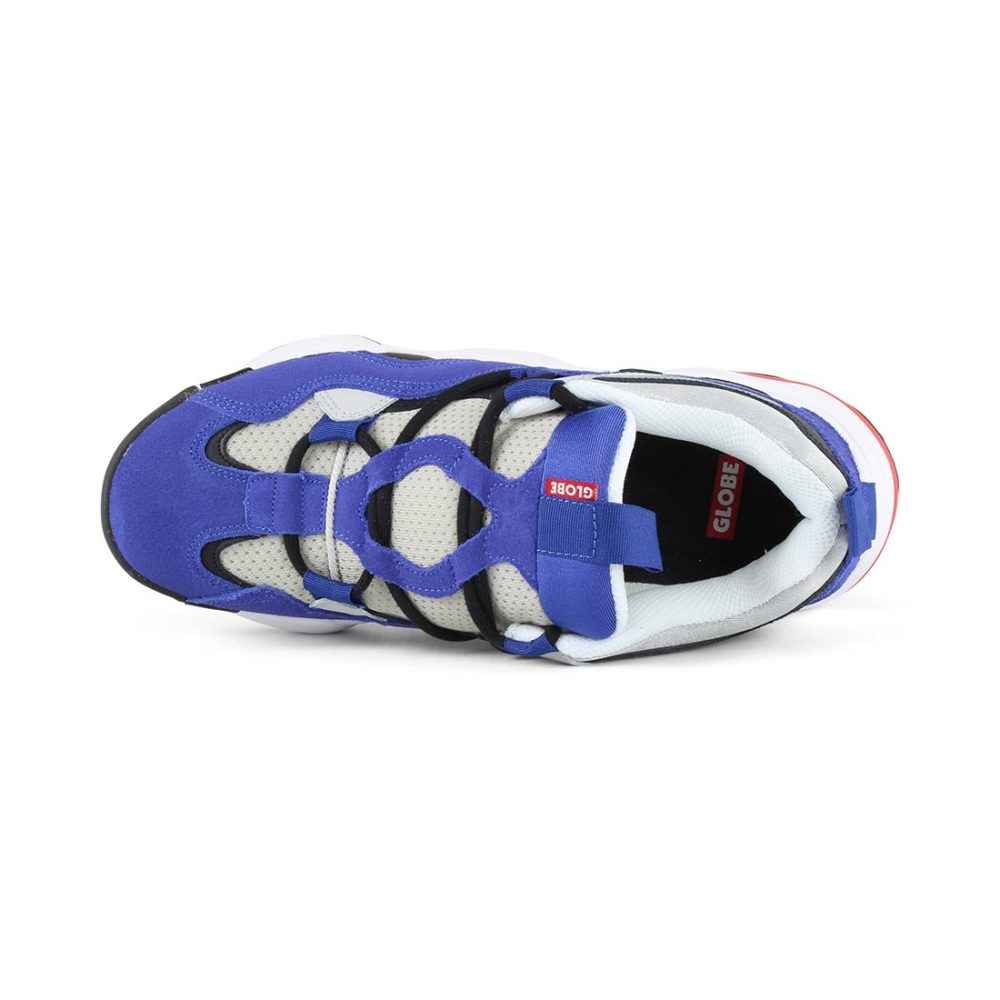 Globe Option Evo Shoes - Blue / Grey / Black