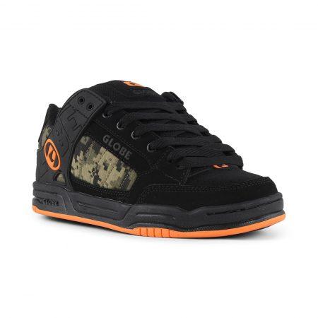 Globe Tilt Shoes - Black / Camo / Orange