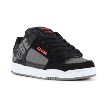 Globe Tilt Shoes - Black / Red / Grey Knit