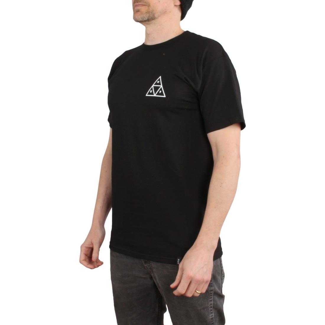 4eceba0a68719 HUF City Rose TT S/S T-Shirt - Black