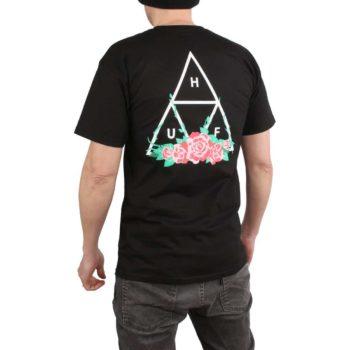 HUF City Rose TT S/S T-Shirt - Black