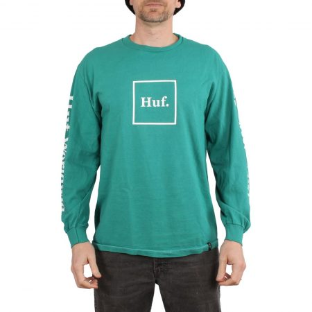 HUF Domestic L/S T-Shirt - Deep Jungle