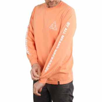 HUF Essentials TT L/S T-Shirt - Canyon Sunset