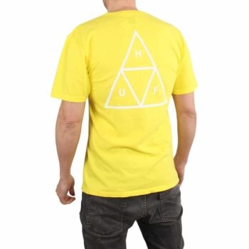 HUF Essentials TT S/S T-Shirt - Aurora Yellow