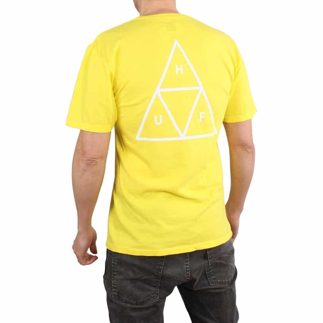 HUF Essentials TT S/S T-Shirt - Aurora Yellow