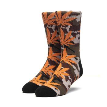 HUF Plantlife Camo Crew Socks – Loden