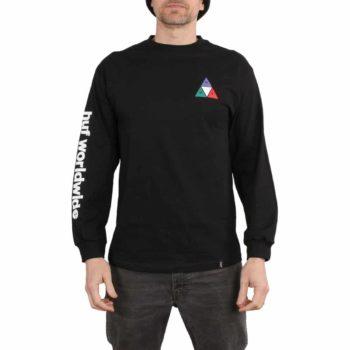 HUF Prism TT L/S T-Shirt - Black