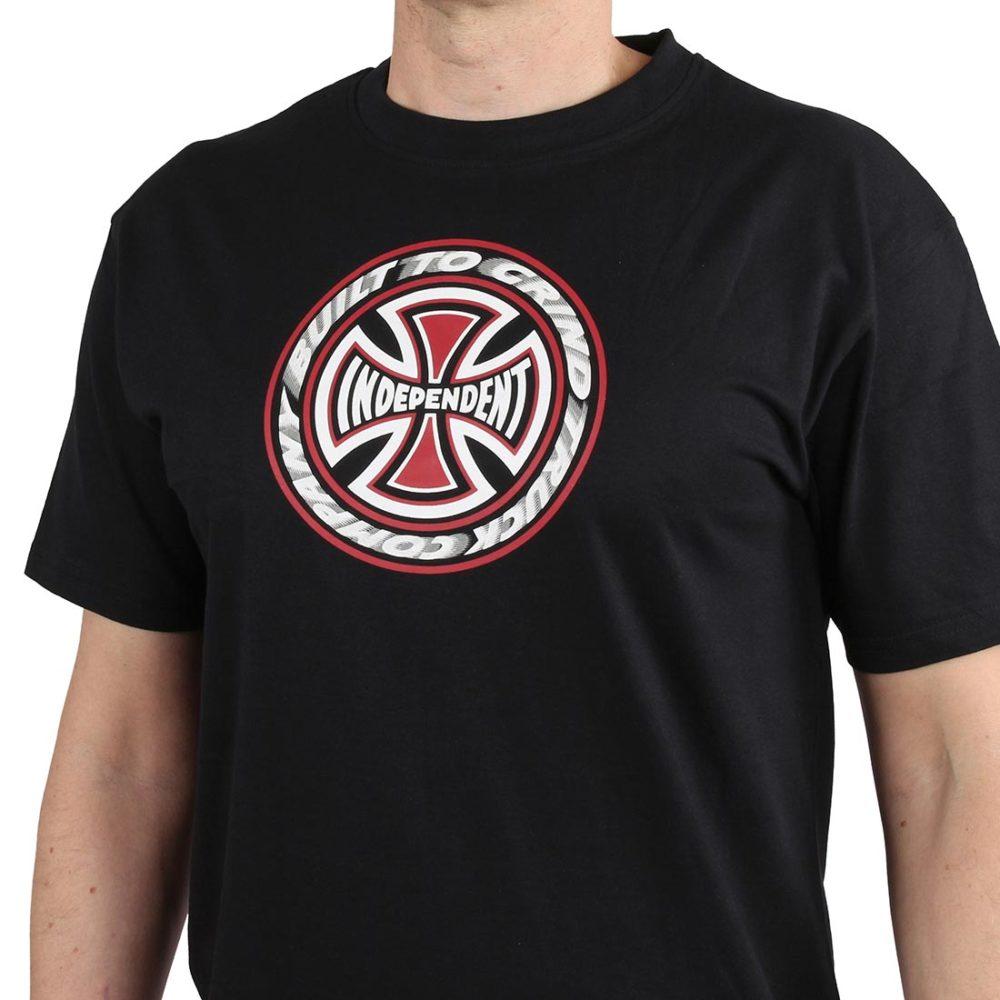 Independent TC Blaze S/S T-Shirt - Black