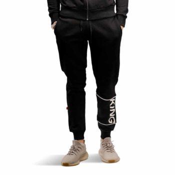 King Manor Tracksuit Pant - Black