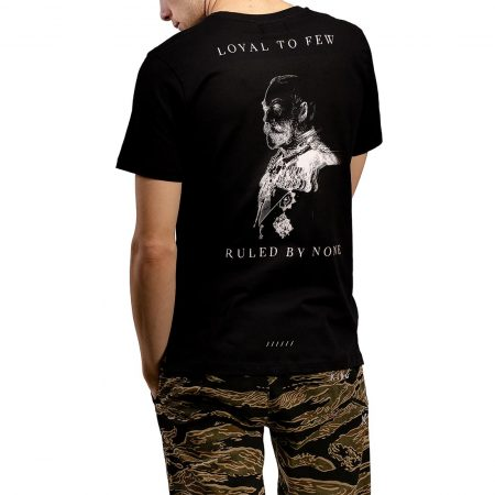 King Earlham S/S T-Shirt - Black