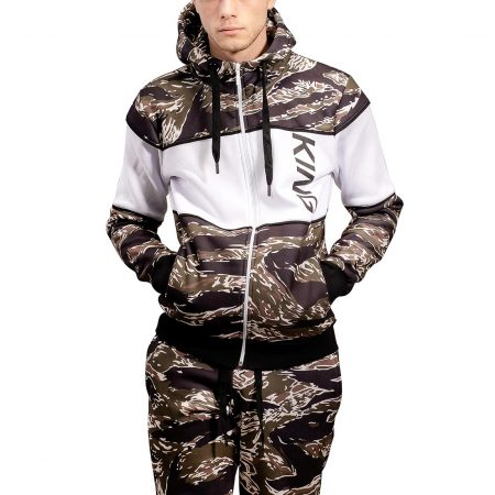King Manor Tracksuit Hoodie - Tiger Camo