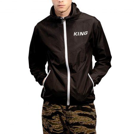 King Manor Windrunner Jacket - Black