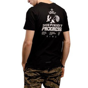 King Progress S/S T-Shirt - Black