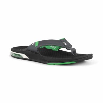 Reef Fanning Low Sandals - Black / Green