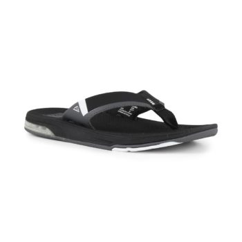 Reef Fanning Low Sandals - Black / White
